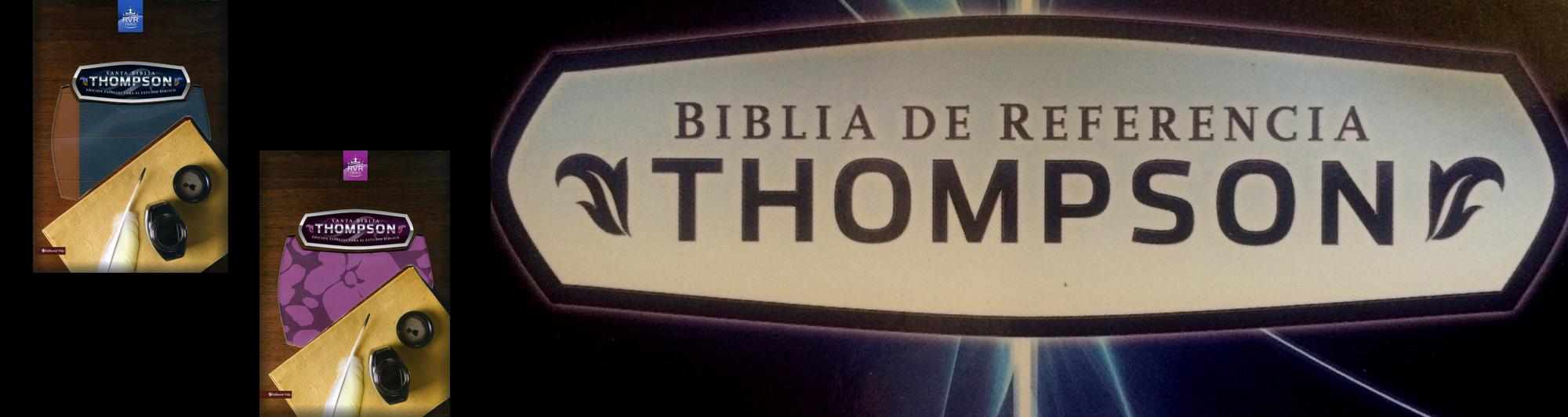 Biblia Thompson Librería Cristiana Clc Colombia Biblia De